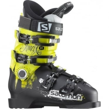 Junior Ski Boots X Max LC 65 - Black/ Green