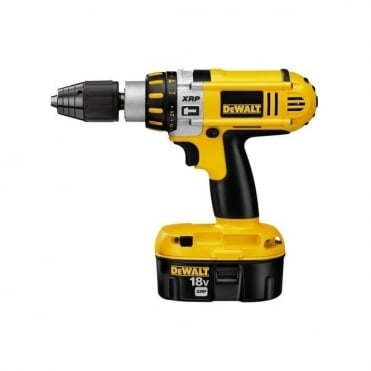 DeWalt DC925 XRP 18v Cordless Impact Drill + 2 Batteries + Charger