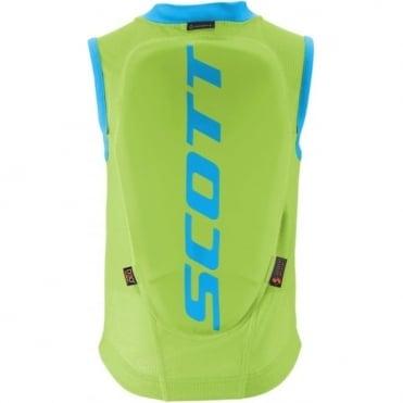 Junior Back Protector Vest Actifit - Blue / Green