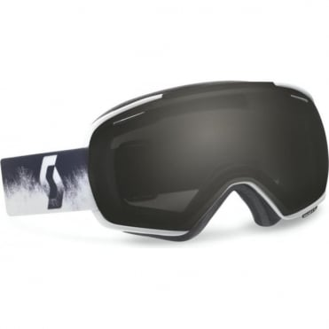 Goggles Linx - Black/White with Red Chrome Lens