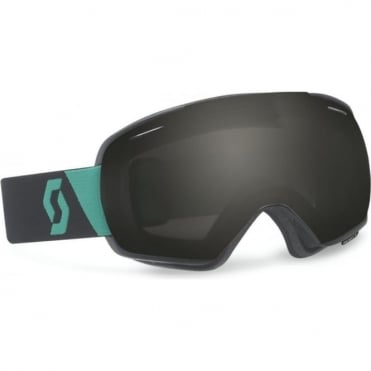 Goggle Linx - Black/Green with Black Chrome Lens