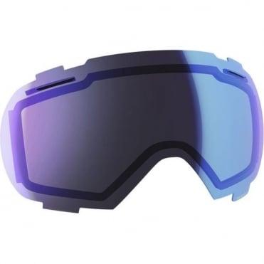 Goggle Spare Lens Linx Illuminator Blue Chrome