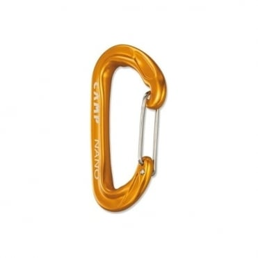 Nano 23 Wiregate Carabiner - Arancio Orange