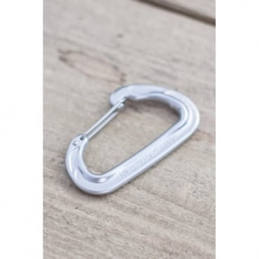 Nano 23 Wiregate Carabiner - Chiaro Light Grey