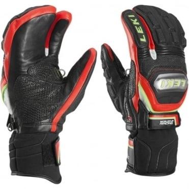 Mittens Race Leki Glove Wc Race Titanium S Lobster Blackred