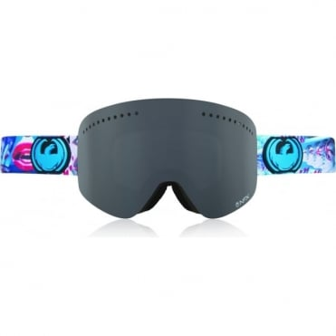 Dragon NFX 5 SCHOPHDAP Dark Smoke + Yellow Blue Lenses - Large