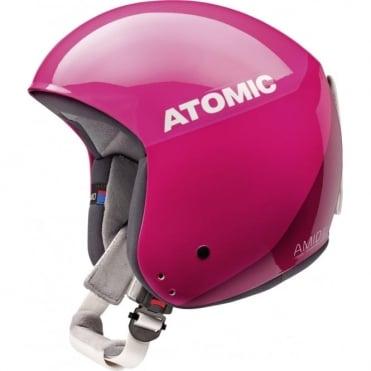 Redster WC FIS Amid Ski Race Helmet Pink