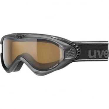 Goggles Uvex Onyx Pola Black Black