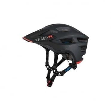 Shred Short Stack Bike Helmet - Credit Card / Charcoal