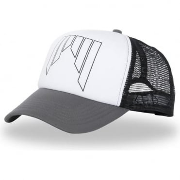 Trucker Cap - Grey White