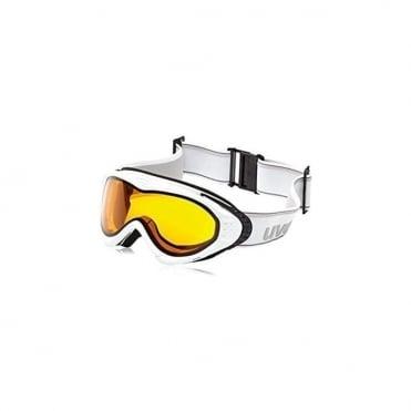 Goggles Uvex Onyx Pola White White