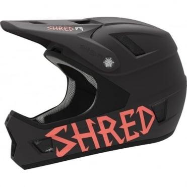 Shred Bike Helmet Brain Box Credit Card Charcoal