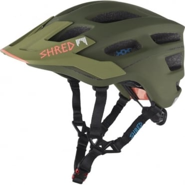 Shred Short Stack Bike Helmet - Woodland