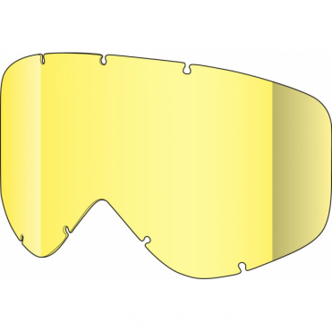Tastic Single Goggles Lens - Yellow