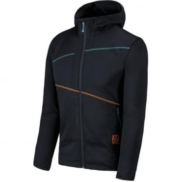 Men's Ridgeline Microfleece Hooded Jacket - Black