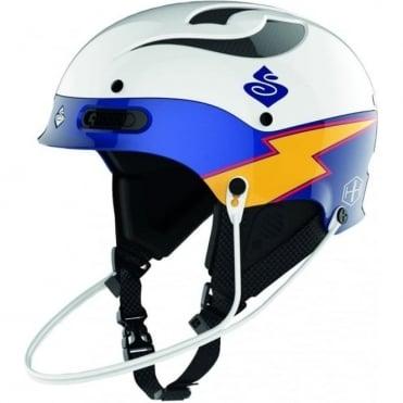 Trooper SL Team Edition MIPS Helmet - White / Blue