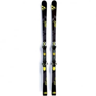Fischer RC4 World Cup GS Jr Curv Booster 23m Radius - 180cm (2018)