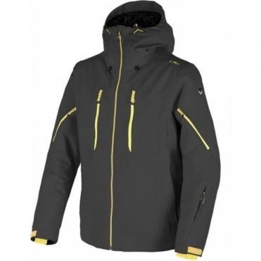 CMP Mens Oxford Ski Tech Jacket Fixed Hood - Grey