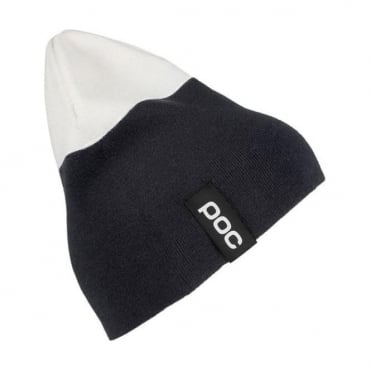 2-Colour Beanie Uranium Black/ Hydrogen White