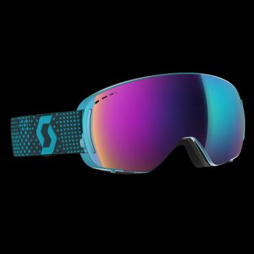 Scott LCG Compact Goggles - Blue/Black/Solar Teal Chrome