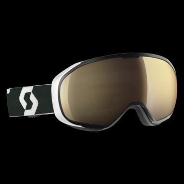 Scott Fix Goggles - Black/White/Light Sensitive Bronze Chrome
