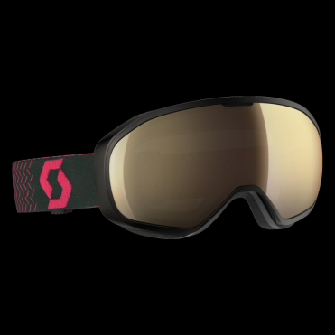 Scott Fix Goggles - Black/Pink/Light Sensitive Bronze Chrome