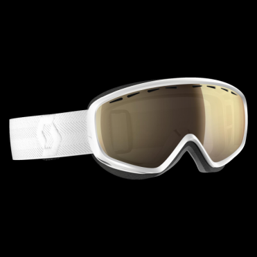 Scott Dana Goggles - White/Light Sensitive Bronze Chrome