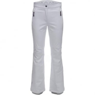 Tech Trouser Wmn Ice Peak W Pant Noelia Stretch Pant White