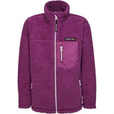LEGO® Tec Saxton 773 Junior Polar Fleece Cardigan - Light Purple