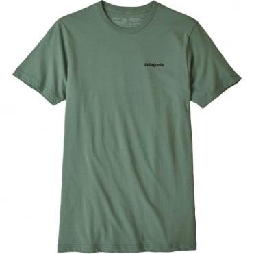 Patagonia P-6 Logo T-shirt - Industrial Green