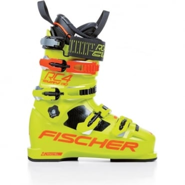 Fischer Rc4 Curv 130 Vacuum Full Fit Boot 97mm +/- 3mm - Yellow (2018)