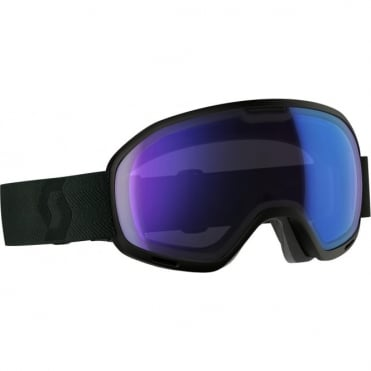 Scott Unlimited II OTG Goggles - Black/Illumination Blue Chrome