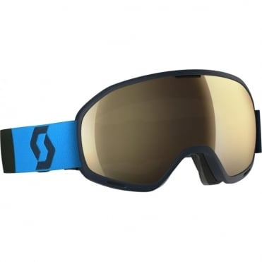 Scott Unlimited II OTG Goggles - Eclipse Blue/Bronze Chrome