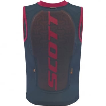 Scott Junior Vest Protector Actifit Plus - Nightfall Blue/Ruby Red
