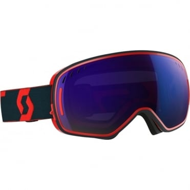 Scott LCG Goggles -  Red/Blue/Solar Blue Chrome