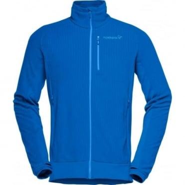 Norrona lofoton warm1 Fleece Jacket - Hot Sapphire