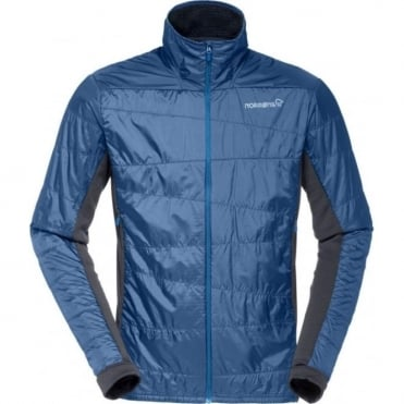 Norrona falketind Alpha60 Mid-Layer Jacket - Denimite