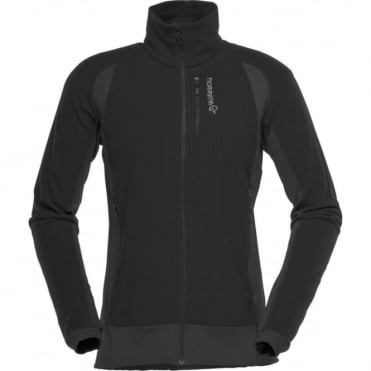 Norrona lofoton warm1 Women's Fleece - Caviar