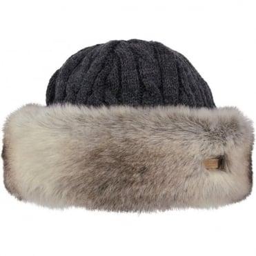 Barts Fur Cable Bandhat - Rabbit Brown