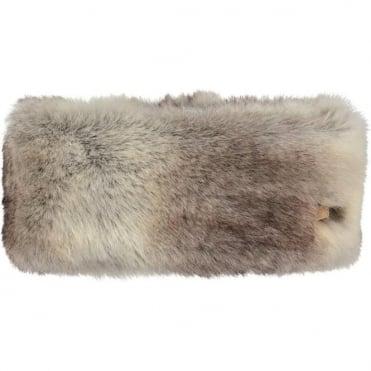 Barts Fur Headband - Rabbit Brown