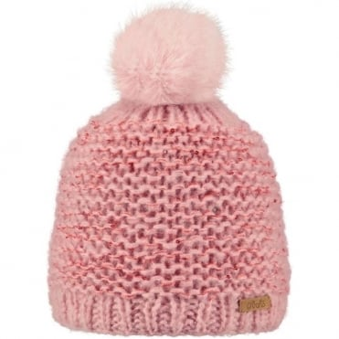Barts Solace Junior Beanie - Peony Pink