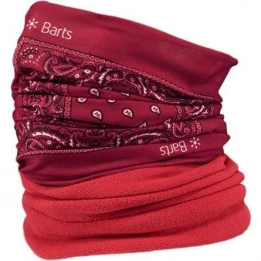 Barts Multicol Polar Neck Warmer - Paisley Red