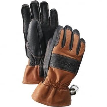 Hestra Falt Guide Gloves - Brown/Black