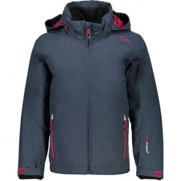 Campagnolo Girl's 3-in-1 Jacket - Asphalt