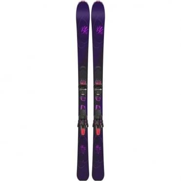 K2 OooLaLuv 85ti Women's ski + Marker ERC 11 TCx Light Binding - 163cm (2018)