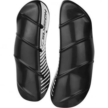 Slytech Shin Guards Carbon Pro 43cm - Charcoal/White