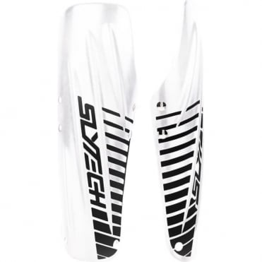 Slytech Arm Guards L 30.5cm - White/Black