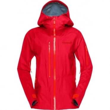 Norrona Lofoten Gore-Tex Active Women's Jacket - Rebel Red