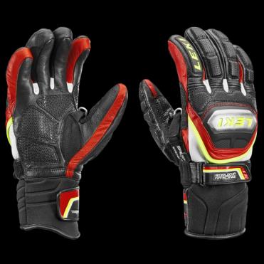 Leki Glove Race World cup Race Titanium Trigger S Speed Black Red