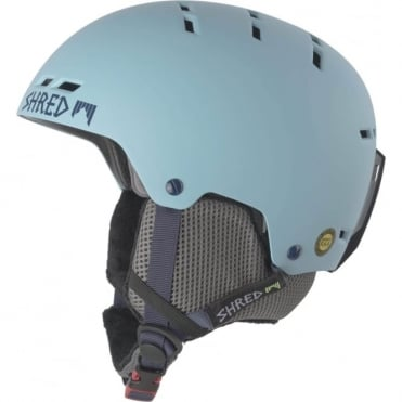 Shred Bumper Helmet - Frozen Blue